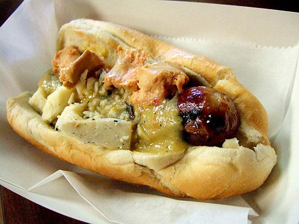 Doug's Foie Gras hotdog