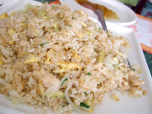Skillet doux nee house for Fish fried rice